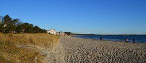 Strandabschnitt im Ostseebad Binz auf der Insel Rügen - Traumurlaub auf Deutschlands größter Insel