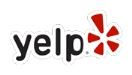 Yelp Logo für das Profil der Ferienwohnung Zum alten Pfau in Göhren auf Rügen