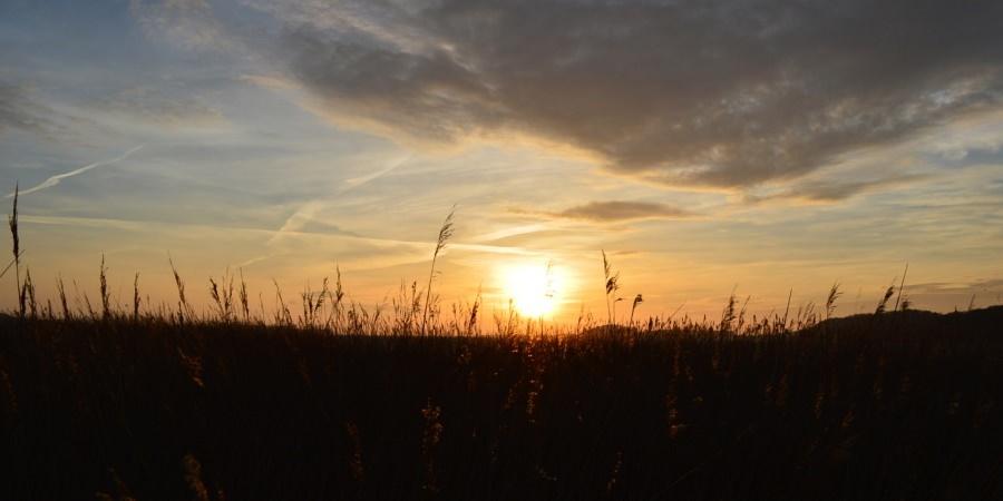 Sonnenuntergang im Ostseebad Baabe auf der Insel Rügen – Urlaub auf Mönchgut an der Ostsee