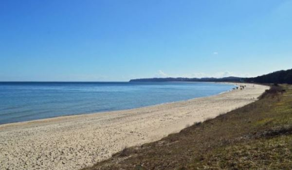 Ostseestrand zwischen Sellin und Göhren auf der Insel Rügen – Strandurlaub auf Deutschlands größter Insel